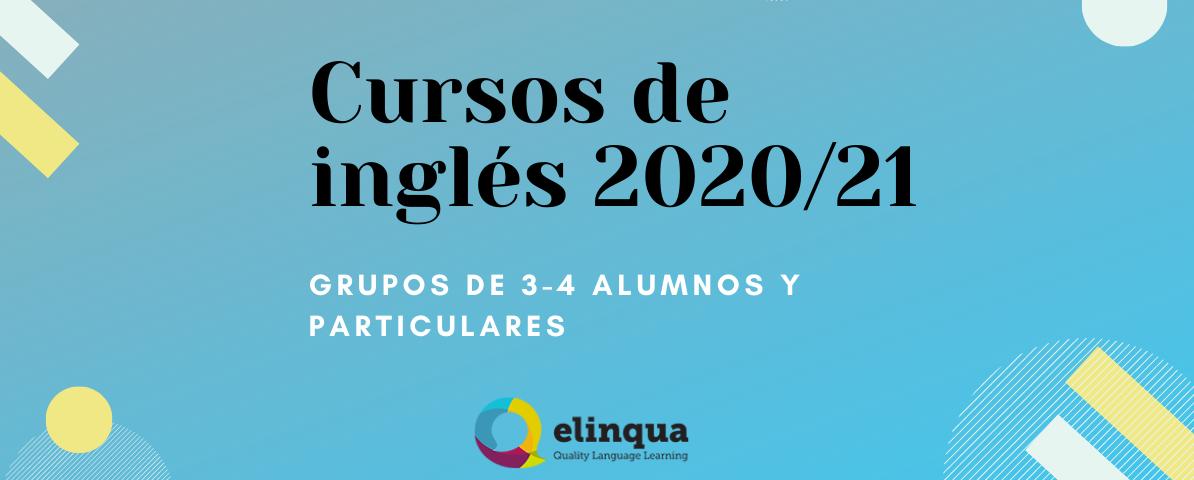 Clases de inglés particulares y en grupo para el curso 2020/2021 en Pamplona y online